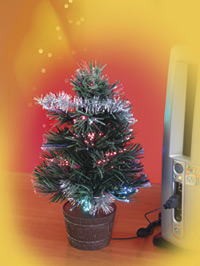 Mini Albero di Natale con attacco USB