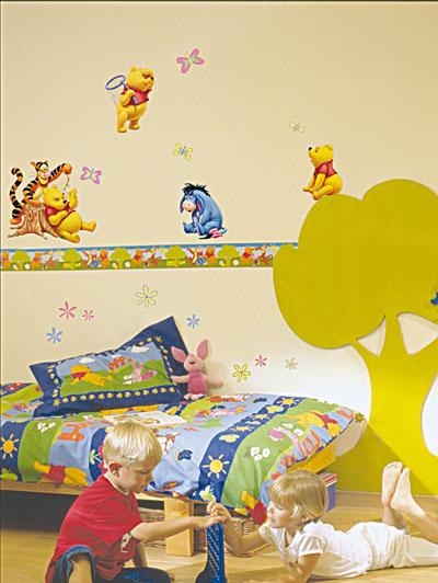 Adesivi murali Winnie the Pooh