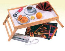 Vassoio Colazione da letto in legno