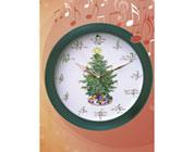 L'orologio di Natale che scandisce il tempo delle feste