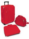 Set da viaggio Dynamic   Rosso Corallo