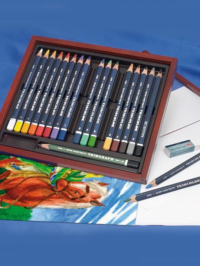 Set da disegno professionale triocolor koh i noor - Dmail catalogo giardino ...