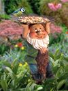Nano da giardino con vassoio!