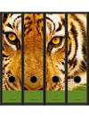 Etichette con tigre