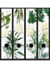 Etichette con piante