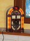 Lettore CD + Radio in stile Jukebox