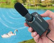 Amplificatore con cuffie stereo integrate