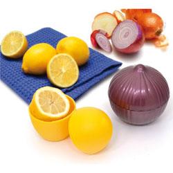 Set due �salva-aroma� per cipolla e limone