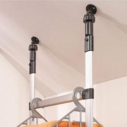 Set di 2 connettori snodabili per soffitti spioventi