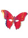 Maschera donna farfalla
