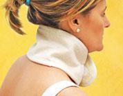 Fascia cervicale in lana merino