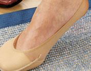 Salva piede con imbottitura