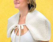 Copri   spalle in lana merino