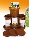 Piante aromatiche in vasi ecologici: buone, utili, intelligenti!