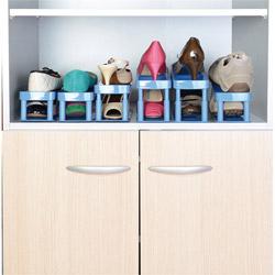 Organizzatori salvaspazio per scarpe, set di 6 pz