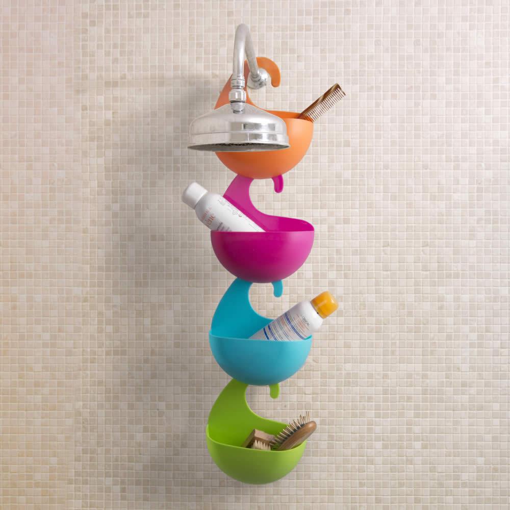 Benessere e accessori bagno e idee utili bagno dmail shopping - Porta bagnoschiuma per doccia ...