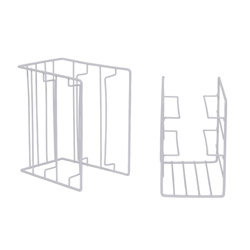 Organizzatore salvaspazio per scaffale - Set 2 pz